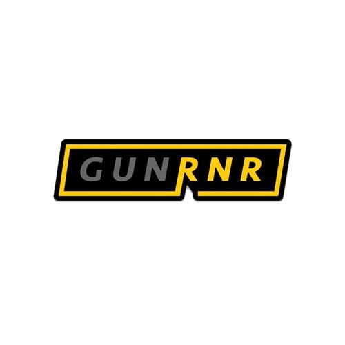 【 GunRnr 】GUNRNR LOGO SLAP Sticker