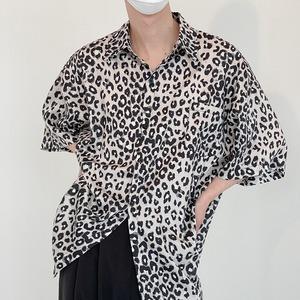 レオパードパターンシャツ YH2431