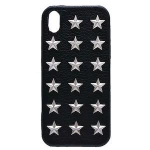 enchanted.LA STAR STUDDED LEATHER COVER CASE #SUPER STAR
