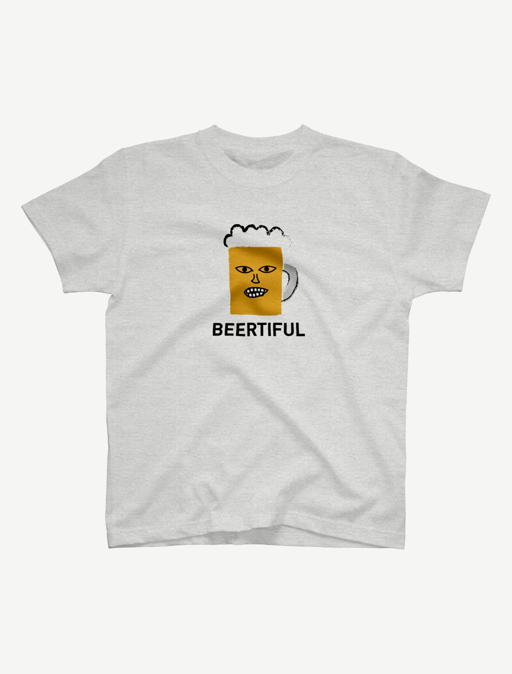 【BEERMAN】Tシャツ(アッシュ)