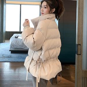 キルティングコート 大きいサイズ レディース 冬 アウター  あったか キルティングジャケット 防寒 9679