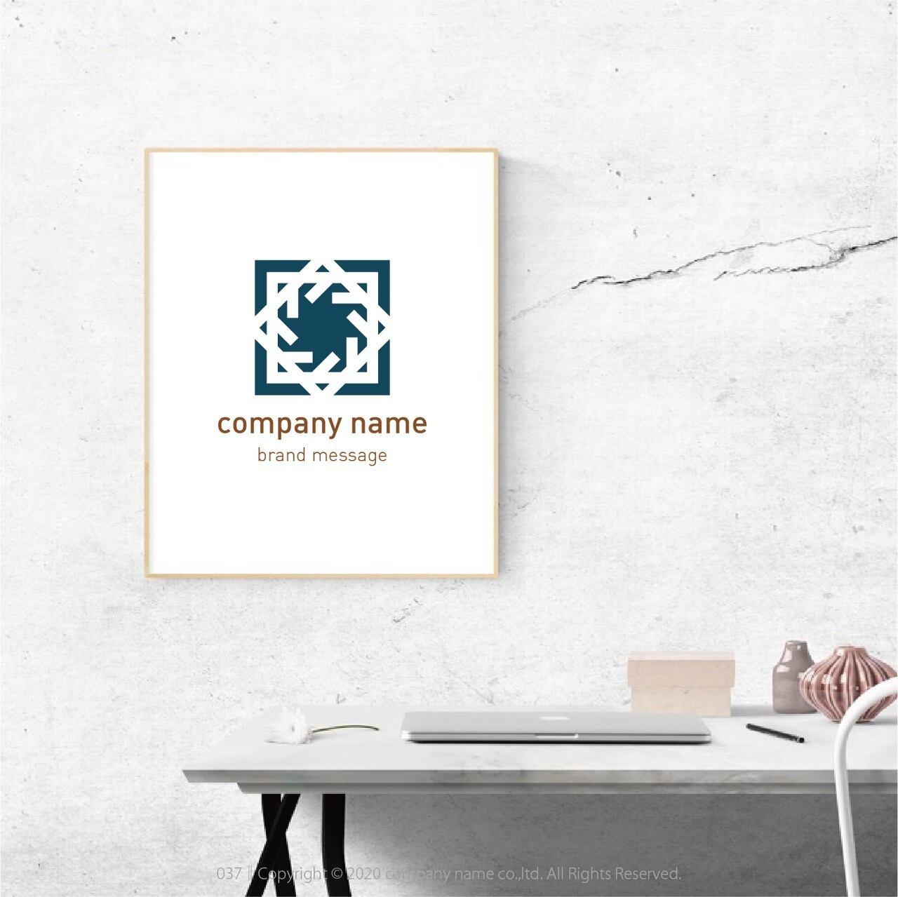 Brand Logo Mark :037