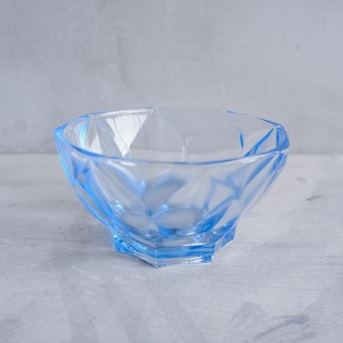 青い氷みたいな器
