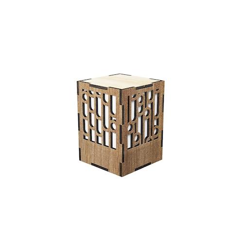 ミニ行灯 竹 - 置き型照明 Sサイズ プレーン