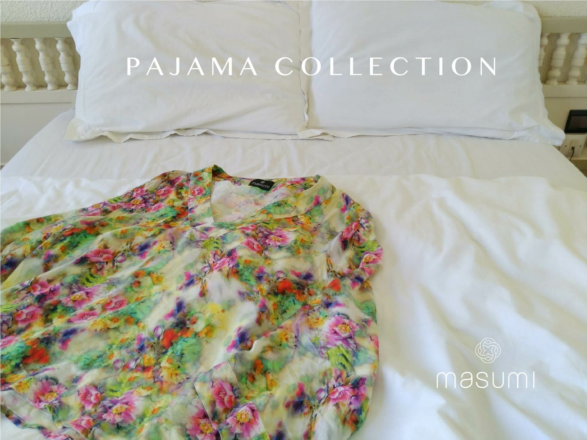 Pajama set up Morning in Sicilly パジャマセットアップ シチリアの朝
