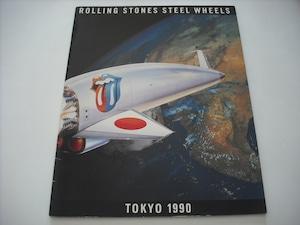 【パンフレット】ROLLING STONES / STEEL WHEELS JAPAN TOUR 1990