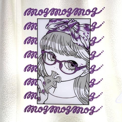 """ mogmogmog "" クリアステッカー  屋外用 耐水 MIKAZUKI"