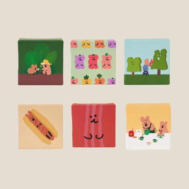 [DINOTAENG] Sunshine in Marshville マスキングテープ シール(全6種)