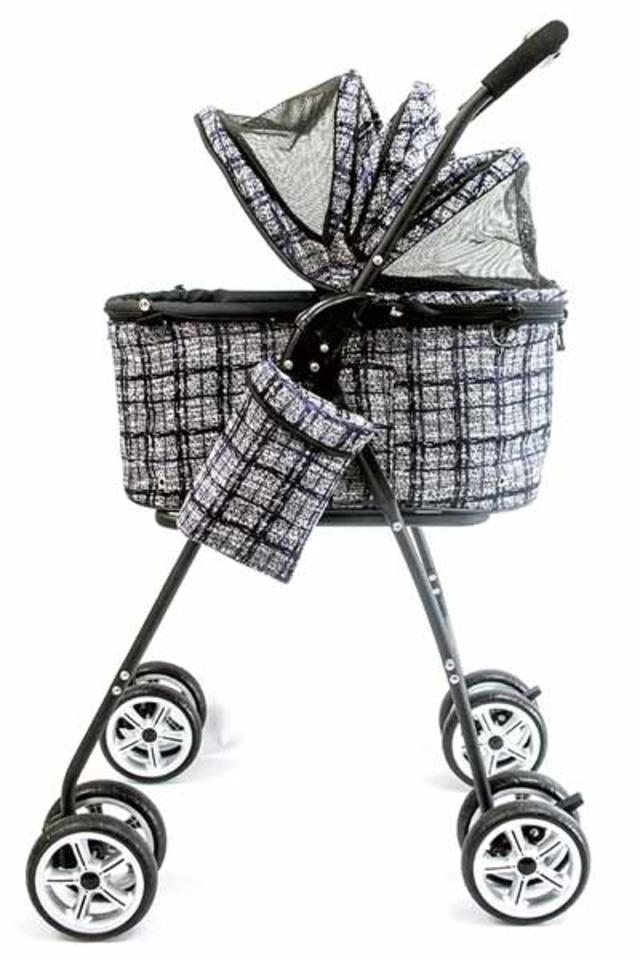【20%オフ+送料無料★即納Sバッグ】天使のカート ラグジーツイード ブラック(限定)バッグのみ