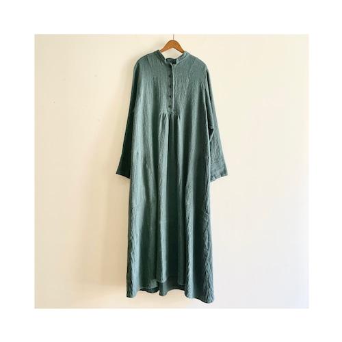 C-71125 【Tomoyo】Linen Wool Dress