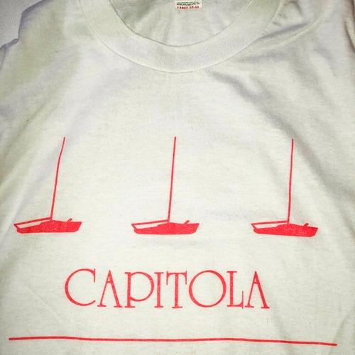 70~80's CAPITOLA print Tee