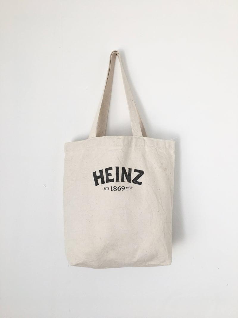 """ユーズドのトートバッグ「ハインツ」 Used Tote Bag """"HEINZ"""""""