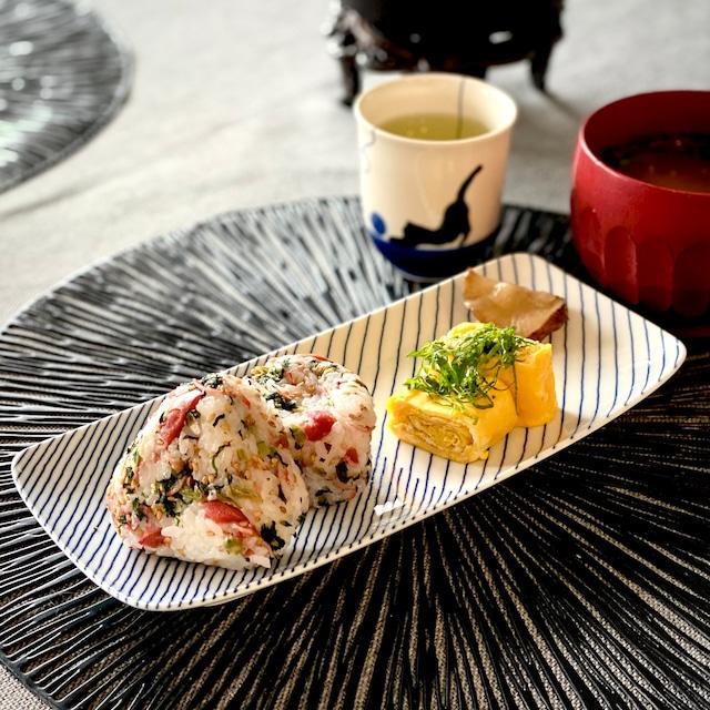 【波佐見焼】【白山陶器】【重ね縞】【長焼皿】 長皿 長角皿 魚皿 hakusan