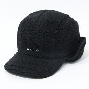 【RVCA】BOA FLEECE HOTH CAP (BLACK)