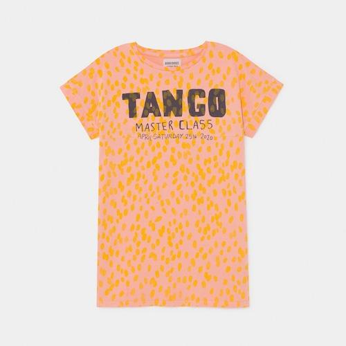 《BOBO CHOSES 2020SS》Tango T-Shirt Dress / 2-9Y