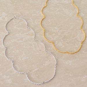 Jewelry Line【Branche】ブランシュ チョーカーネックレス(SJ0009)