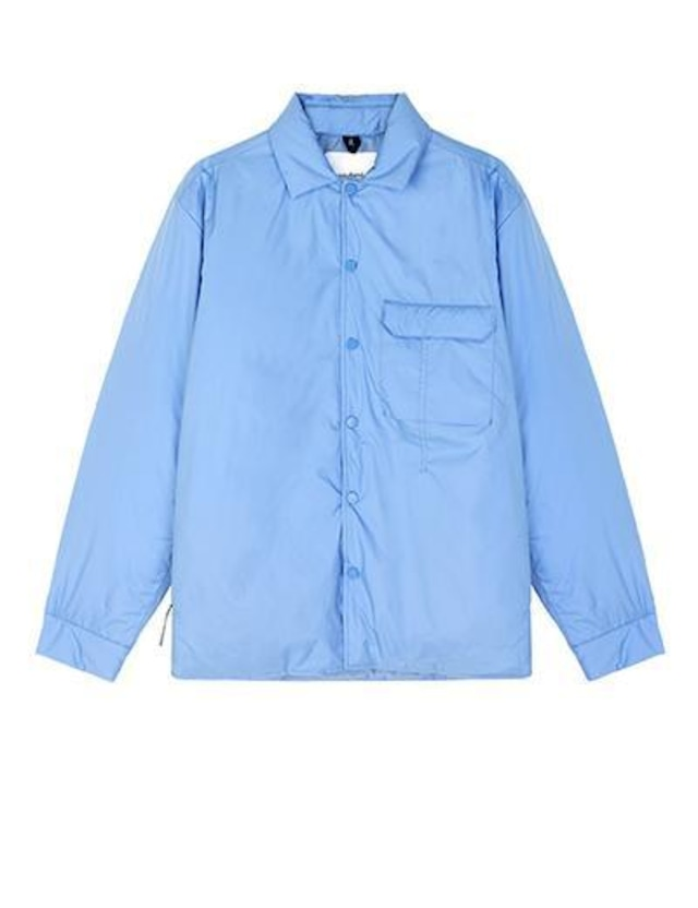 SOULLAND LEVI SHIRT  BLUE