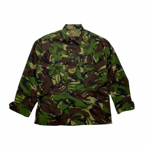JACKET DPM COMBAT LIGHTWEIGHT ミリタリー コンバットジャケット 99年 イギリス軍 ミリタリーシャツ  シャツ ジップアップ 英 軍物 カモ 迷彩 総柄 DPM COMBAT JACKET