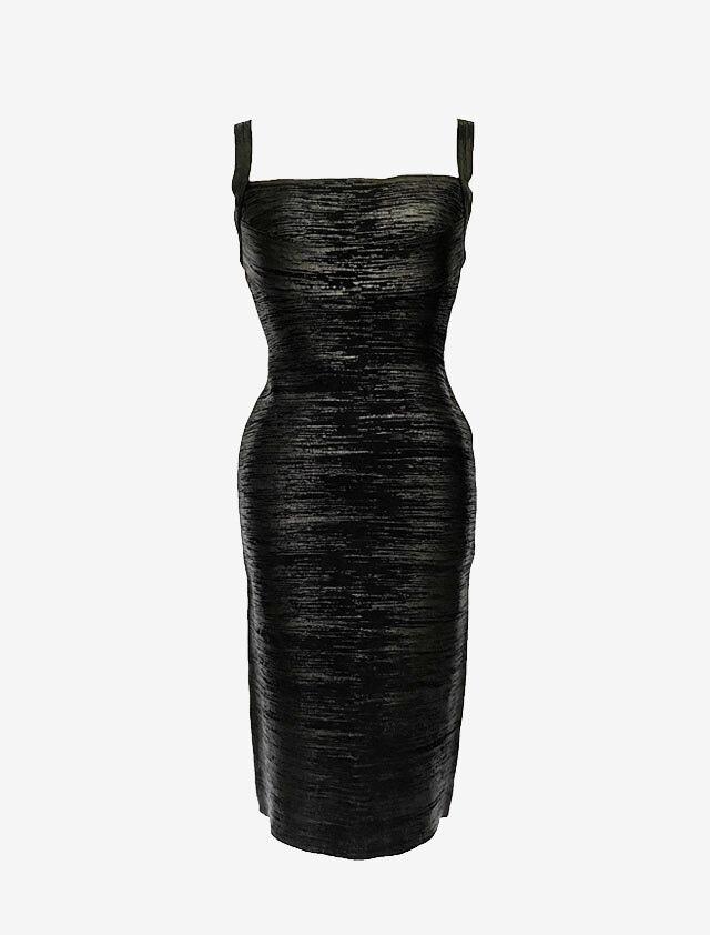 エルベ レジェ バンデージ ワンピース ドレス ブラック Herve Leger