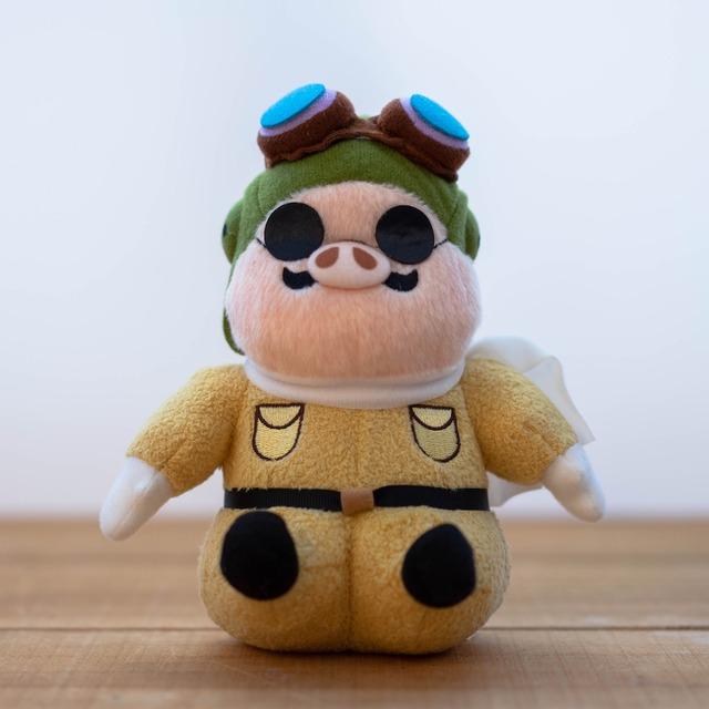 紅の豚 ぬいぐるみ / お手玉 Mサイズ(ポルコロッソ)