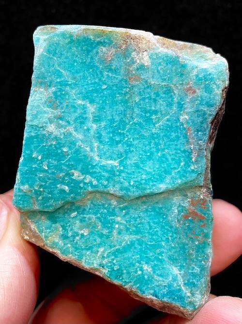 14) ロシアン・アマゾナイト原石