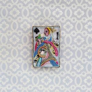 アントワネットポワソン(Antoinette Poisson)コラボブローチ&ネックトップ<パラスの女神>