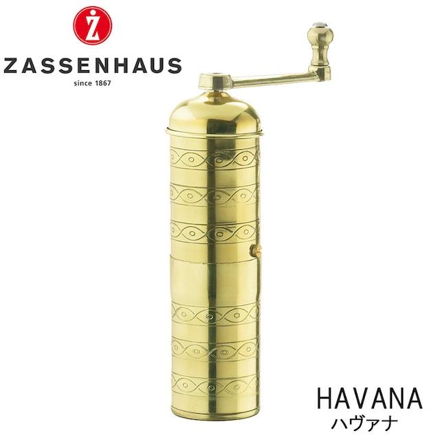 ZASSENHAUS ザッセンハウス コーヒーミル ハヴァナ 手挽き 手動 キャンプ アウトドア 用品 グッズ グランピング