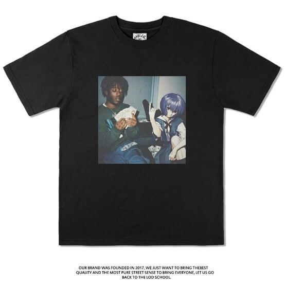 【エヴァコラボTシャツ】Lil Uzi Vert×綾波Tシャツ