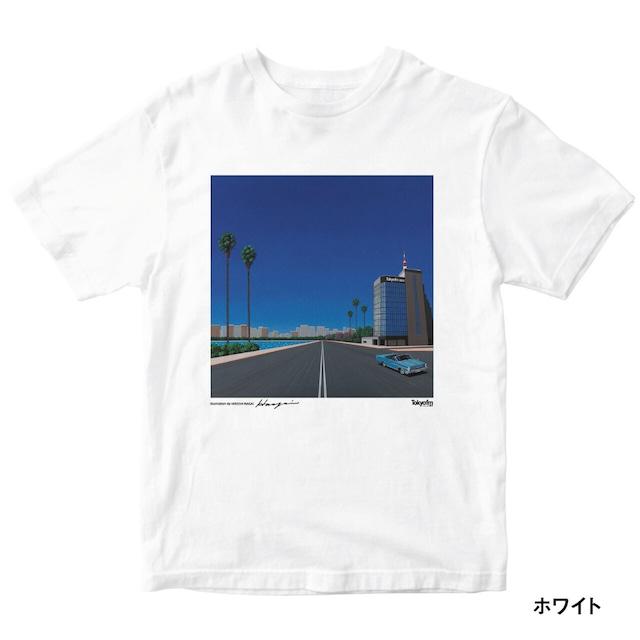《送料無料》hiroshi nagai × RADIO VACATION CITY POP 半袖TEE