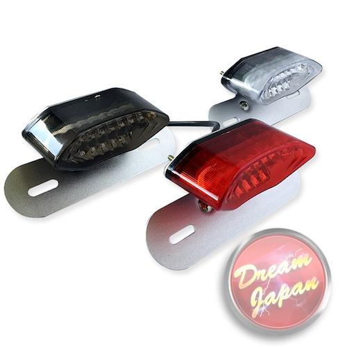 バイク LEDテールランプ ウインカー 一体型テール ルーカステール【レンズ色選択】 / 汎用 ルーカス CB XJ SR TW