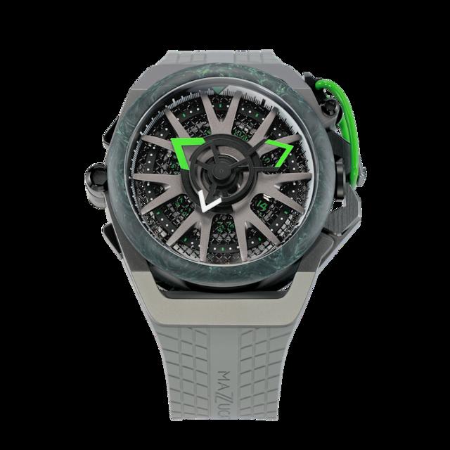 【MAZZUCATO マッツカート】RIM.F1-GY361/RIM SPORT MONZA(グリーン)/国内正規品 腕時計