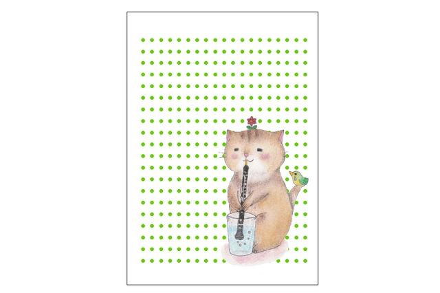 オーボエ猫のレターセット