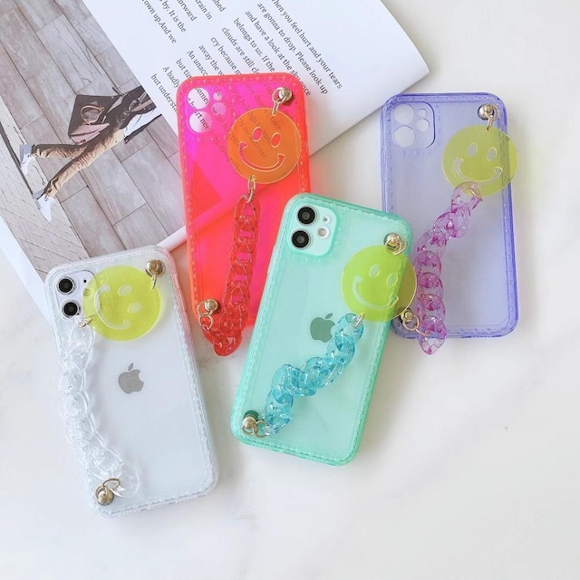 Summer Smile chain iPhone case