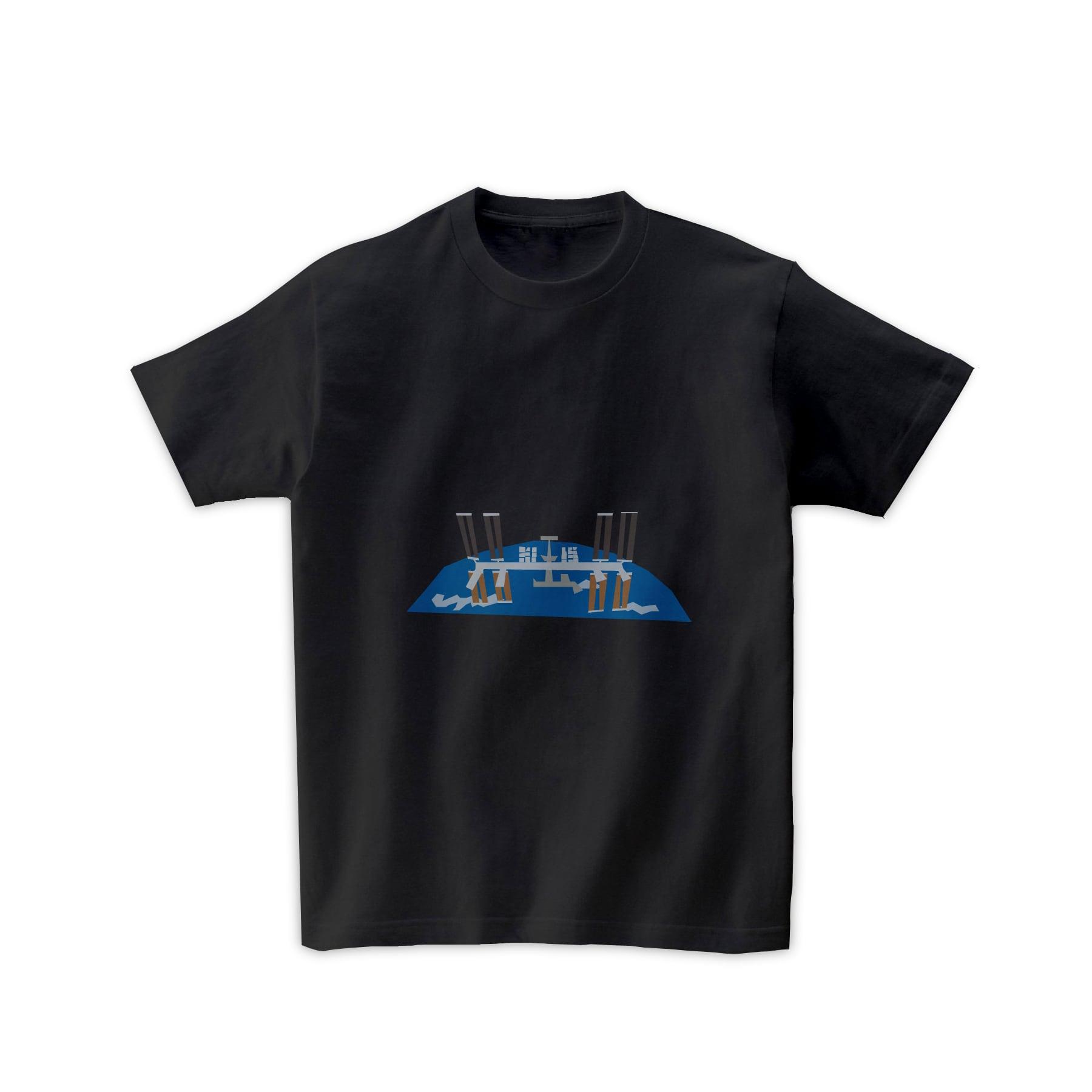 宇宙Tシャツ-宇宙ステーション