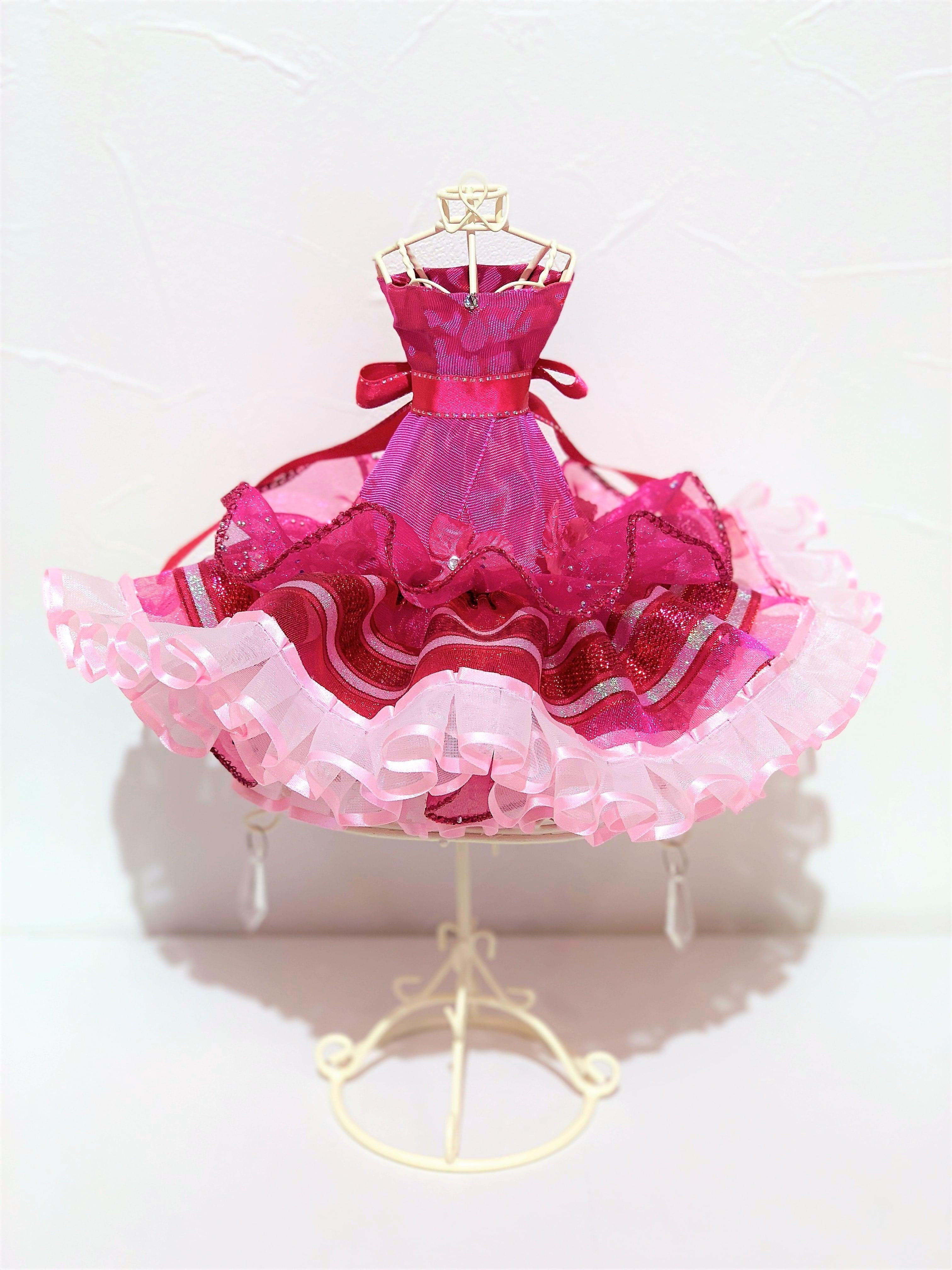 リボンドール(ピンク)Lサイズ