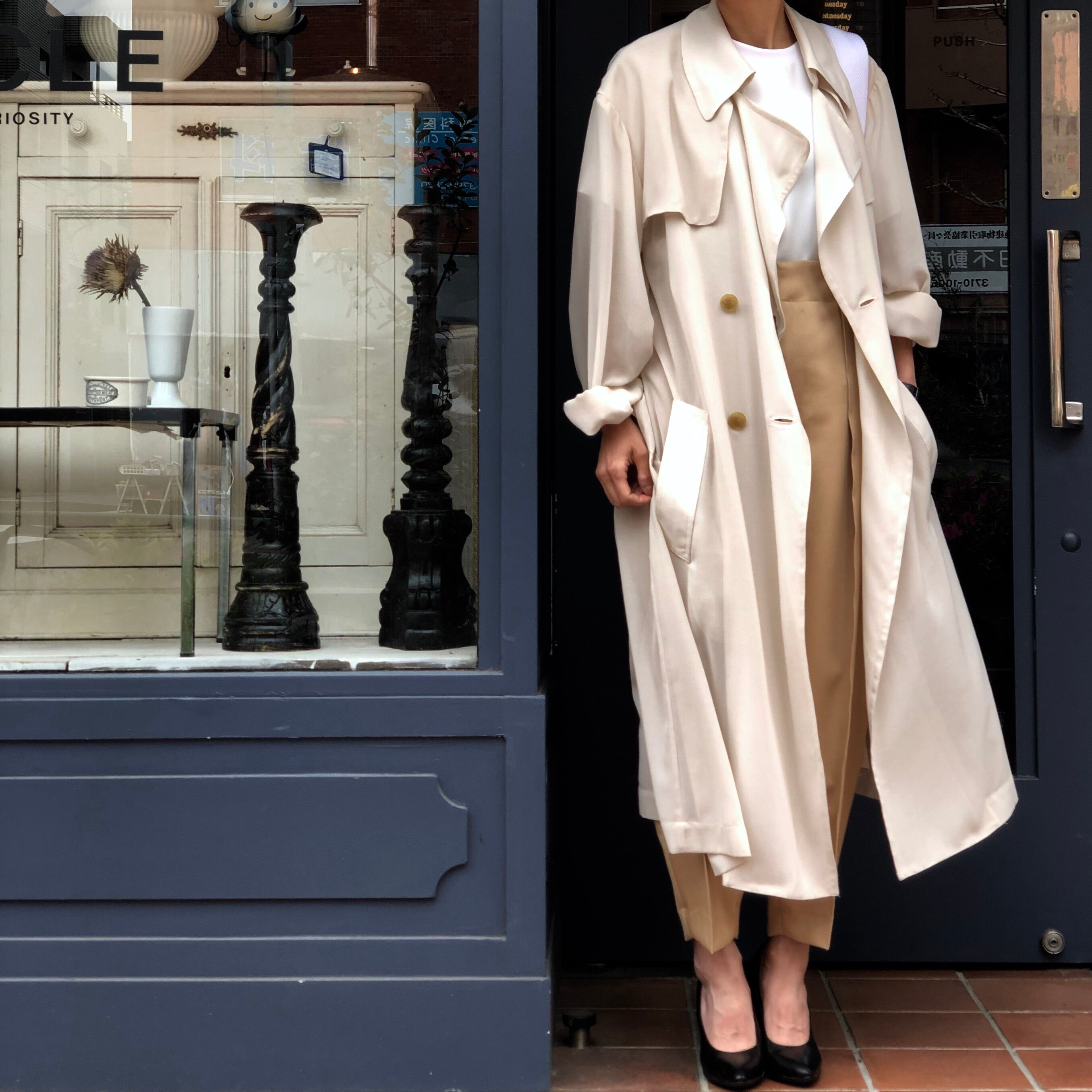 Air Trench Coat/IVORY