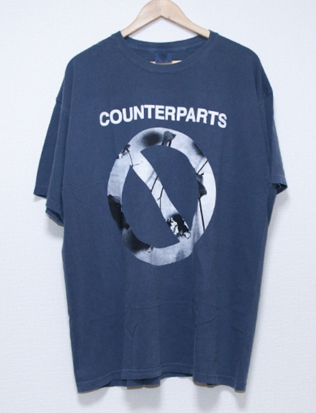 【COUNTERPARTS】Not You T-Shirts (Blue Jean)