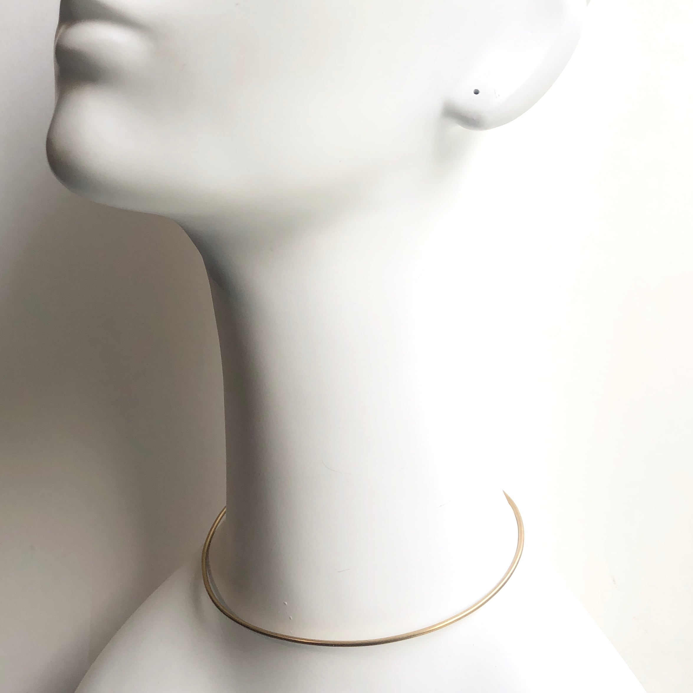 Wire choker Necklace NC-025