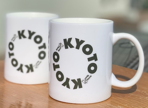 """JS Kyoto """"Circle"""" ロゴ マグカップ"""