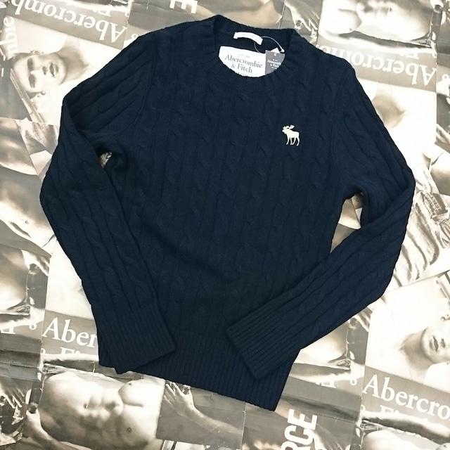 Abercrombie&FitchメンズセーターSサイズ