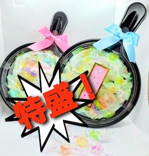 ★新商品★特盛!!こんぺいとうフライパン詰合せ~大粒金平糖50個+小ビン金平糖~(Konpeitou assorted friying pan cases)
