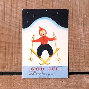 ミニ・クリスマスカード「Boel Cronberg(ボエル・クローンベリ)」《200313-04》
