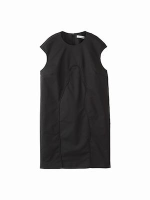 Cocoon dress  / black / W15DR04