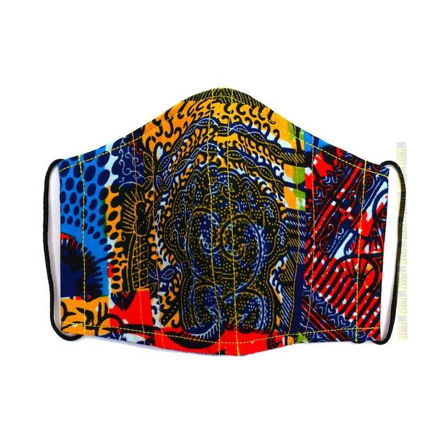 M05/アフリカ布 マスク