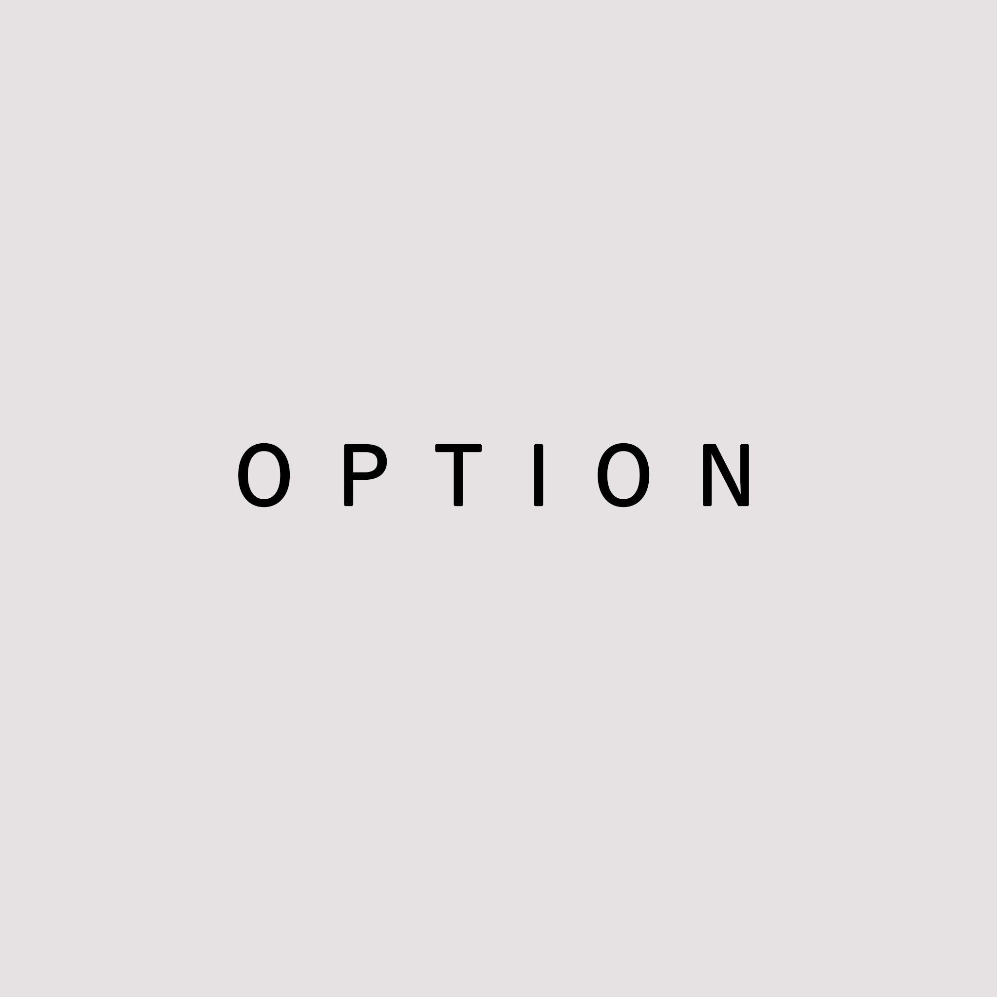 OPTION 《 3,300 yen 》