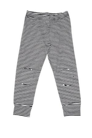 MINGO. Legging B/W stripes