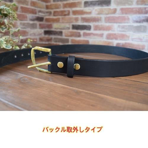 【受注制作】ベルト 取外しタイプ(バックルはお持ち込みとなります)   (KA205c2)