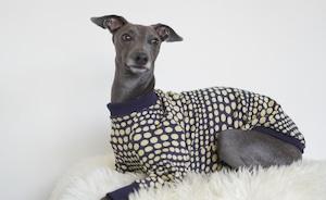 art dot pullover