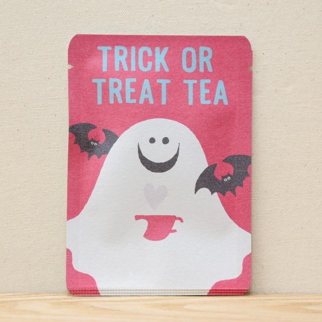 TRICK OR TREAT TEA (ゴースト)|ごあいさつ茶|和紅茶ティーバッグ1包入り