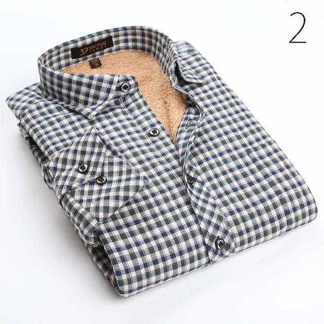 ネルシャツ アメカジ カジュアル チェックシャツ メンズ ワイシャツ Yシャツ 長袖tps-75